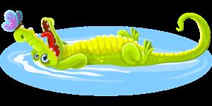 krokodil-mit-schmetterling